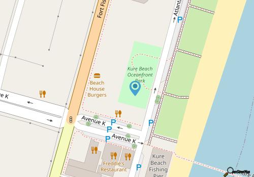 Kure Beach Oceanfront Park - CarolinaBeach com