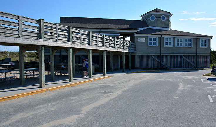 Fort Fisher State Recreation Area visitor center