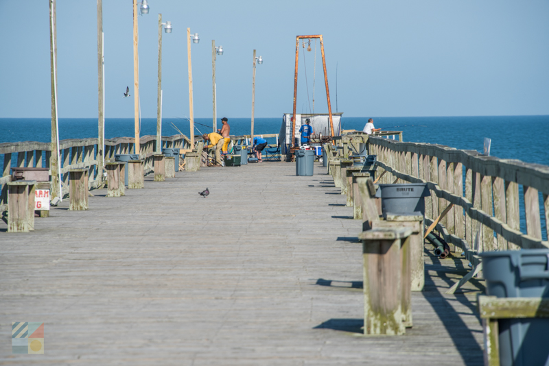 Fishing from Kure Beach Pier