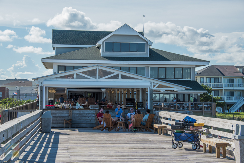 The Oceanic Restaurant and Pier in Wrightsville Beach