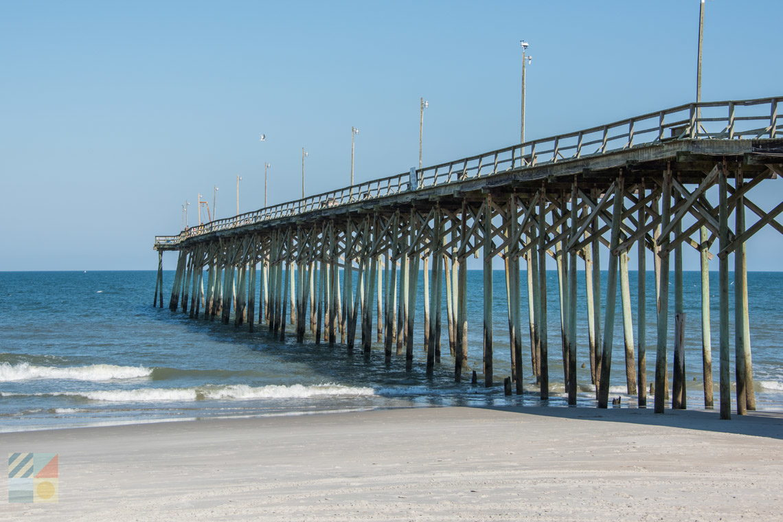 Carolina beach nc photo tours and travel information for Nc fishing piers