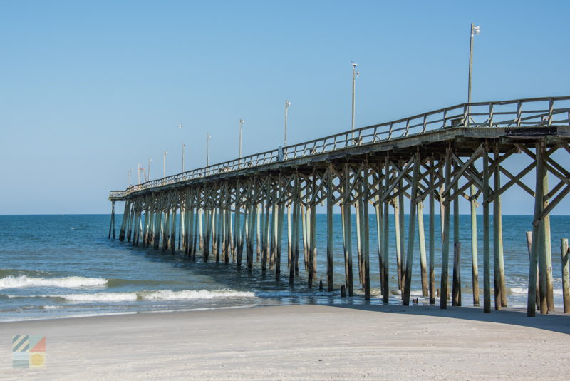 Carolina beach fishing pier for Holden beach fishing pier