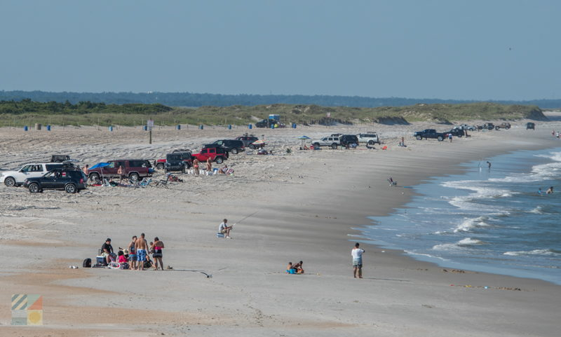 View Of Freeman Park From Carolina Beach Fishing Pier