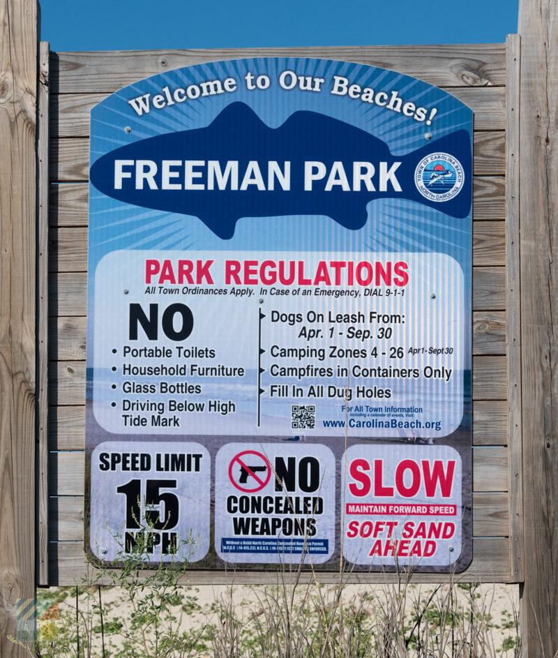Freeman Park - CarolinaBeach com