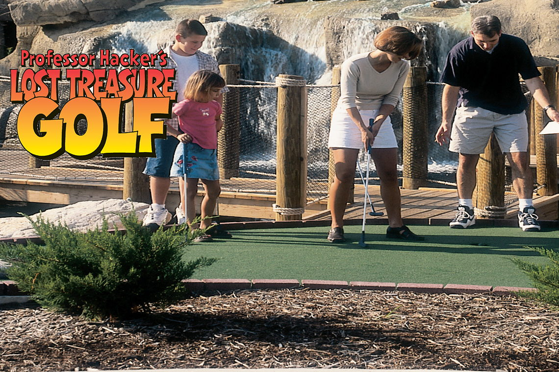 $1.00 Off Per Person Rides or Golf For Entire Family