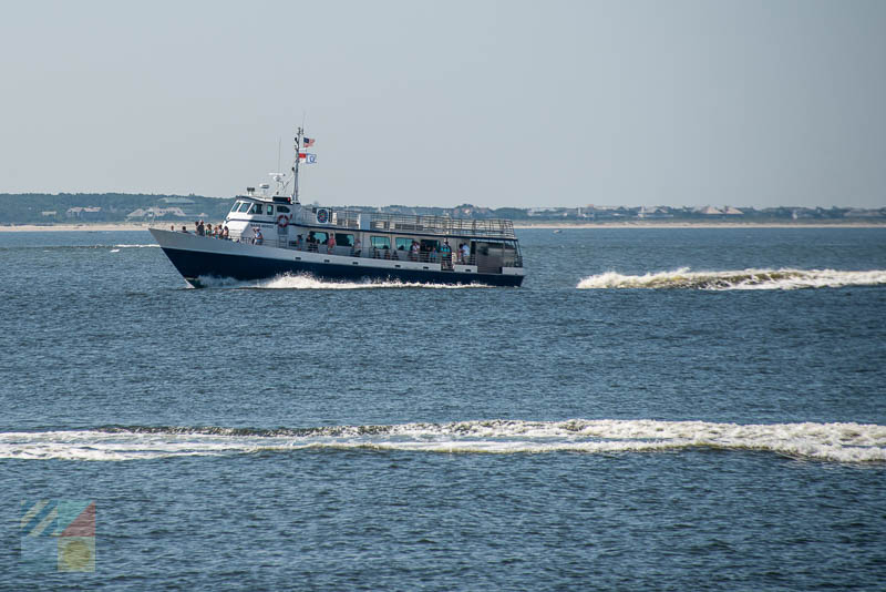 The passenger ferry to Southport NC