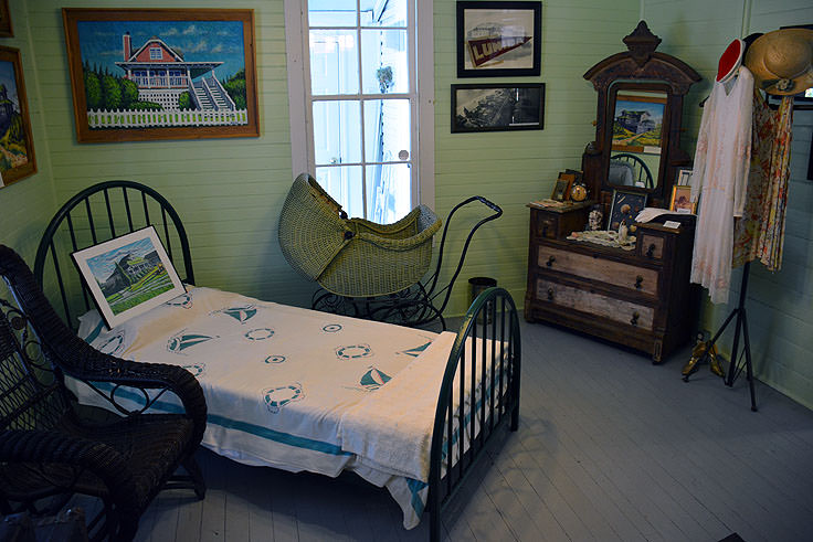 Exhibits at the Wrightsville Beach Museum of History
